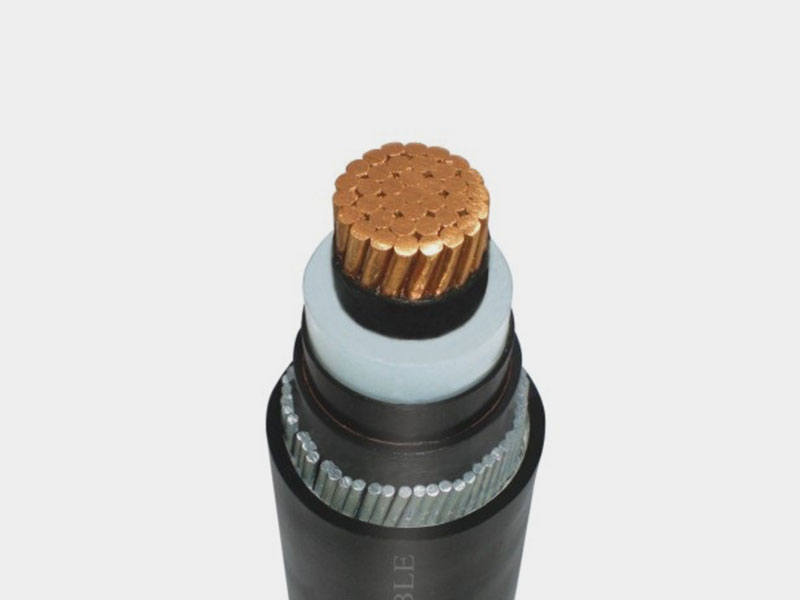 PE Sheathed Single Core Power Cable