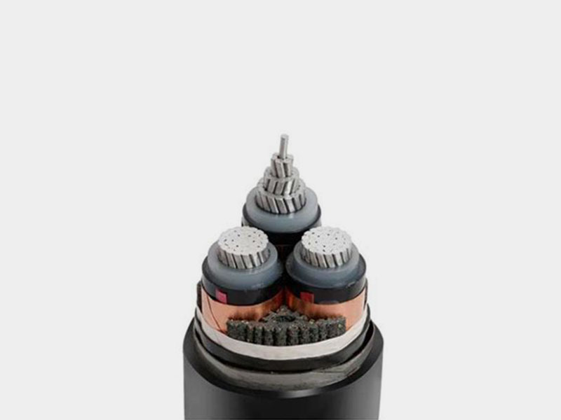 PVC Sheathed 3 Core Power Cable