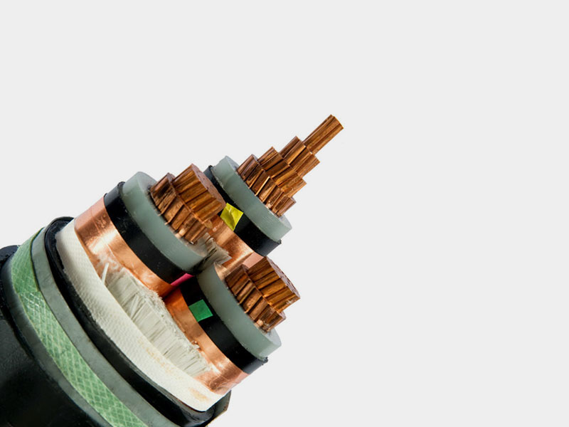 PE Sheathed 3 Core Power Cable